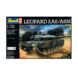 REVELL 03180 1:72 LEOPARD 2 A6M